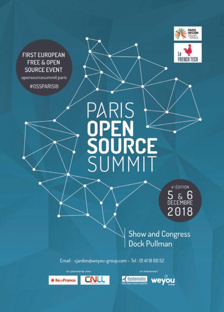 Affiche Paris Open Source Summit