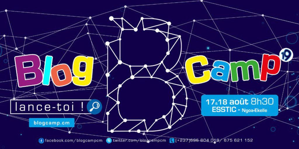 BlogCamp 2019 Affiche officiel