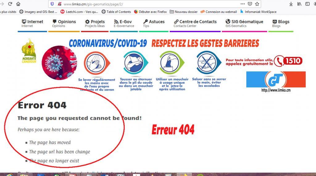 Erreur 404 liée à la pagination