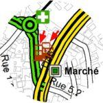 Cartographie : Géolocalisation des infrastructures d'intérêt. Enjeux et prise de décision pour les communes.